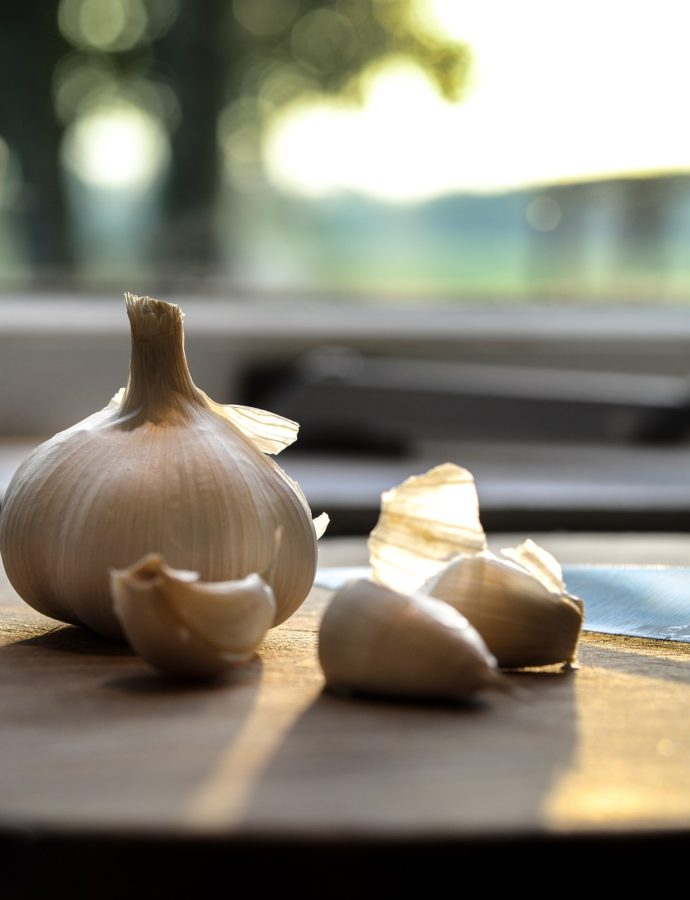Garlic, make it a staple.